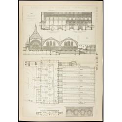 1913 - Plan ancien de la...