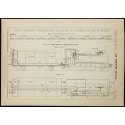 1913 - Plan ancien d'un...