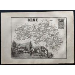 1867 - Département de l'Orne