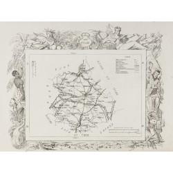 1874 - Carte ancienne de...