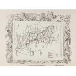 1874 - Carte ancienne de la...