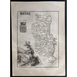 1867 - Département du Rhône