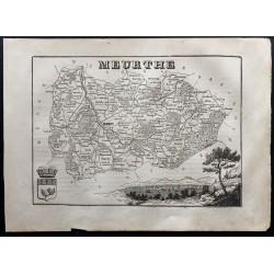 1867 - Département Meurthe