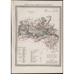 1839 - Carte géographique...
