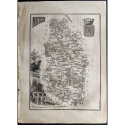 1867 - Département de la Meuse