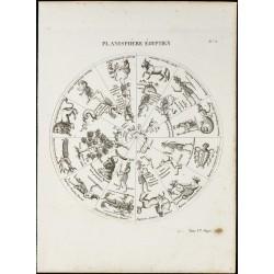 1822 - Planisphère égyptien