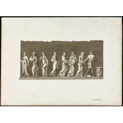 1822 - Gravure du vase de...