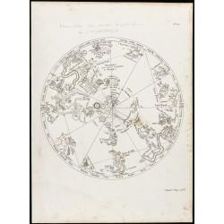 1822 - Planisphère céleste...