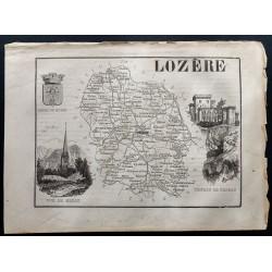 1867 - Département de Lozère