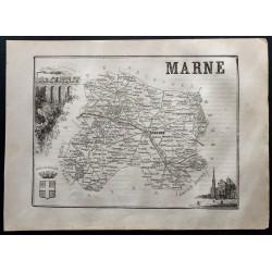 1867 - Département de la Marne