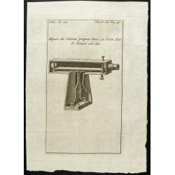 1777 - Plan d'un niveau