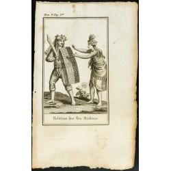 1806 - Costumes des Iles...