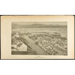 1892 - Vue de la ville de...