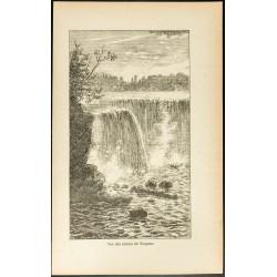 1892 - Vue des chutes du...
