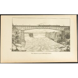 1892 - Chutes du Niagara