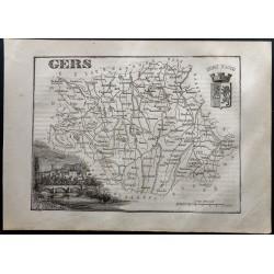 1867 - Département du Gers