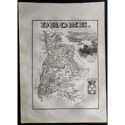 1867 - Département de la Drôme