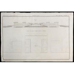 1850 - Plan de la Caserne...