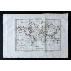 1797 - Mappemonde réduite