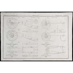 1850 - Plan d'artillerie de...