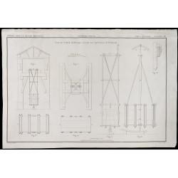 1850 - Plan ancien d'un...