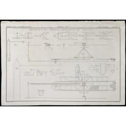 1850 - Plan d'une presse...