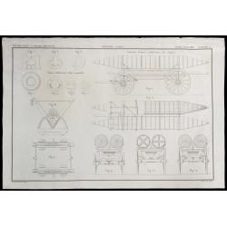 1850 - Plan de pontons...