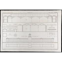 1850 - Plan du port de...