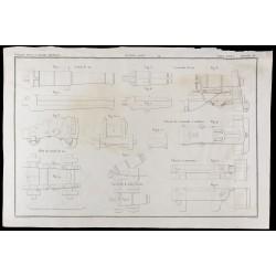 1850 - Plan de canons de...