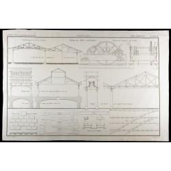 1850 - Plan des Docks des...