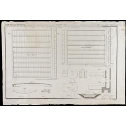 1850 - Plan des portes du...