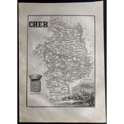 1867 - Département du Cher