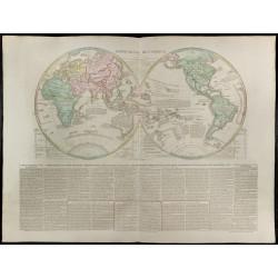 1830 - Grande mappemonde...