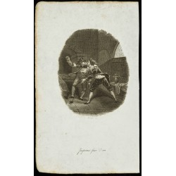 1834 - Gravure sur...
