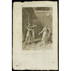 1810 - Gravure sur Horace