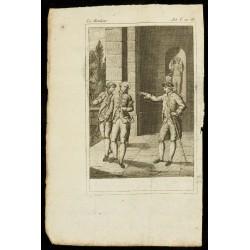 1810 - Gravure sur Le menteur