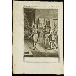 1810 - Gravure sur Le comte...