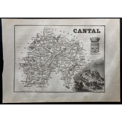 1867 - Département du Cantal