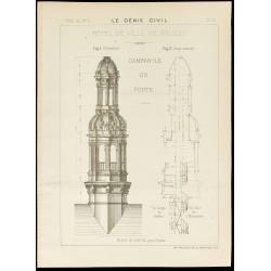 1886 - Campanile en fonte...