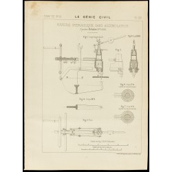 1886 - Plan ancien d'une...