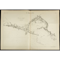 1885 - Plan ancien du port...
