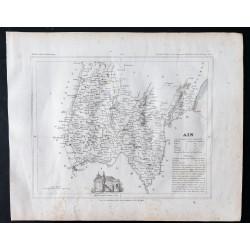 1833 - Département de l'Ain