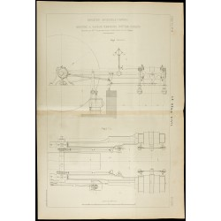 1886 - Plan ancien machine...