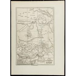 1860 - Carte ancienne du...