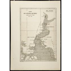 1860 - Carte du Groenland &...