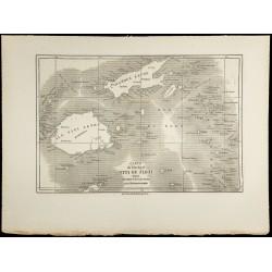 1860 - Carte ancienne des...