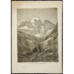 1860 - Le mont Viso