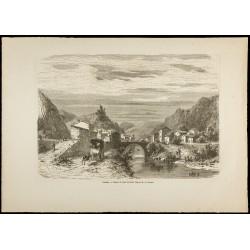 1860 - Pont et château de...