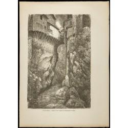 1860 - Vue de Pont-en-Royans