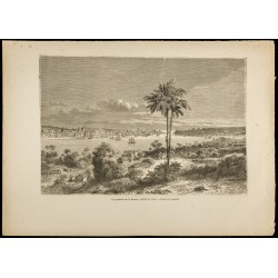 1860 - Vue générale de la...